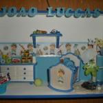 Enfeite com o quarto do bebê(Foto:Divulgação)
