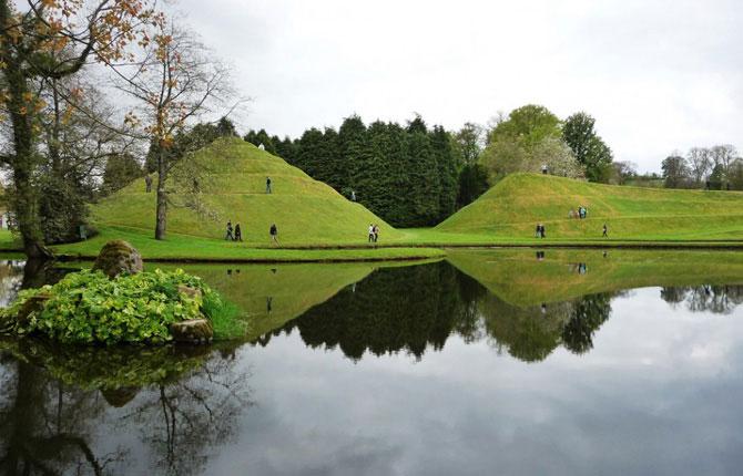 Jardim da Especulação Cósmica, na Escócia (Foto:Divulgação)