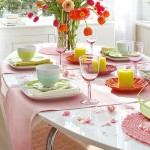 Decoração de mesa para o café da manhã fotos, dicas 3