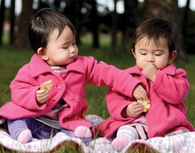 Muitas mães sonham em ter gêmeos porque são raros acontecimentos. (Foto: Divulgação)