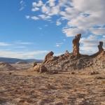Esculturas naturais no deserto de Atacama (Foto:Divulgaçao)