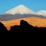 Vulcão no deserto do Atacama (Foto:Divulgaçao)
