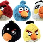 Angry Birds de pelúcia.