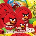 Angry Birds se transformou em tema de aniversário.