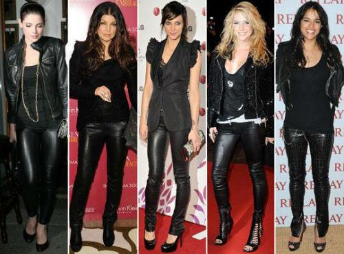 look para noite calça preta