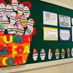 Convide os alunos para montar um lindo mural. (Foto: Divulgação)