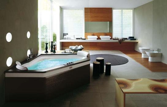 Decoração de banheiros com banheira – Fotos -> Decoracao De Banheiros Com Banheiras Fotos