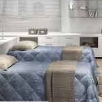 O quarto decorado com móveis planejados sabe como aproveitar o espaço.