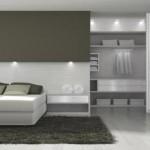 Um dormitório planejado para casal.