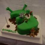 Bolo de Aniversário do Shrek(Foto:Divulgação)