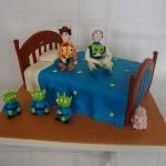 Bolo de Aniversário do Toy Store(Foto:Divulgação)