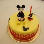 Bolo de Aniversário do Mickey (Foto:Divulgação)