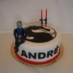 Bolo de Aniversário Mortal Kombat (Foto:Divulgação)