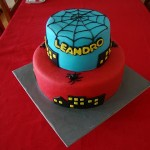 Bolo de Aniversário do Homem Aranha  (Foto:Divulgação)