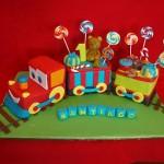 Bolo de Aniversário de Trem  (Foto:Divulgação)