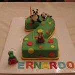Bolo de Aniversário do panda (Foto:Divulgação)