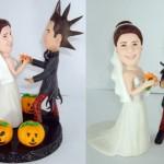 Bolo de Casamento do casal punk (Foto: Divulgação)