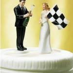 Bolo de Casamento de noivos fãs da F1 (Foto: Divulgação)
