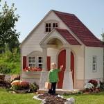 O tamanho da casa precisa ser proporcional ao da criança para que ela se identifique.
