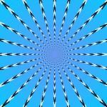 Ilusão de ótica de movimento circular (Foto:Divulgação)