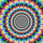 Ilusão de ótica dos círculos (Foto:Divulgação)