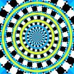 Imagens de ilusão de óptica