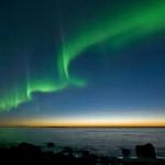 Aurora Boreal no amanhecer (Foto:Divulgação)