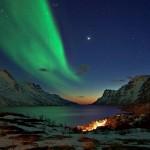 Aurora Boreal verde  (Foto:Divulgação)