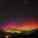 Aurora Boreal colorida  (Foto:Divulgação)