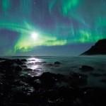 Aurora Boreal verde ao luar (Foto:Divulgação)