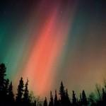Aurora Boreal vermelha  (Foto:Divulgação)