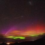 Aurora Boreal multicolorida  (Foto:Divulgação)