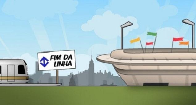 Acordo do governo estabelece entrega do monotrilho 15 dias após início da Copa1