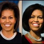 Bonecos de cera: Michelle Obama (Foto: Divulgação)