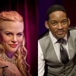 Bonecos de cera: Nicole Kidman e Will Smith (Foto: Divulgação)