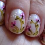 Decoração de flores, simples e bonita