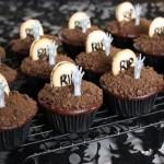 Cupcakes inspirados em zumbi