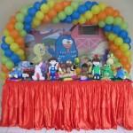 Exemplo de decoração Galinha Pintadinha