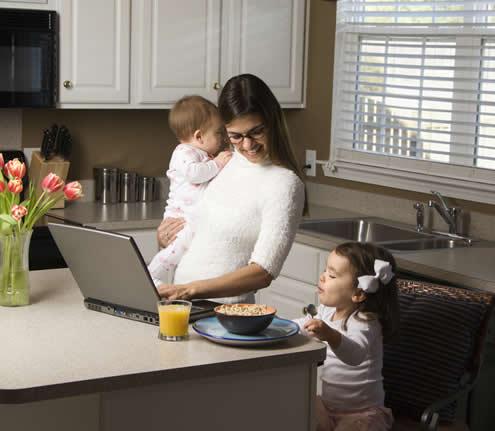 Quem deseja trabalhar em casa deve ser responsável quanto aos horários