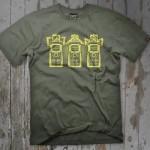 Camisetas de Nerds com estampas e cores variadas