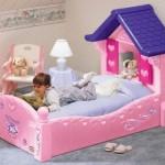 A menina vai amar uma cama de princesa.