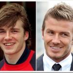 David Beckhan - Antes e depois da fama