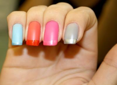 Qualquer cor pode ser usada para se fazer a francesinha fosca. (Foto: Divulgação)