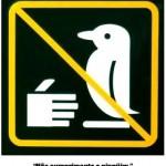 Não cumprimente o pinguim