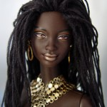 Boneca Barbie Negra - Feições Autênticas