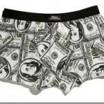 Cuecas Divertidas - Estampa 1 Dólar