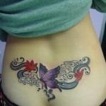 Tatuagem no Cóccix - Borboleta