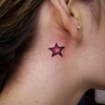 Tatuagem de Estrela Pequena