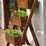Como montar uma horta em casa - Fotos e modelos 12