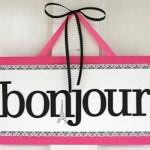 Use termos termos em francês na hora de decorar.